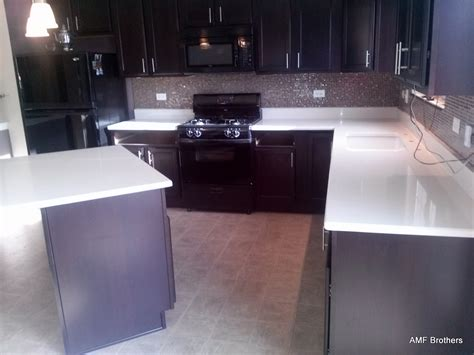 Carrara Quartz Countertop by Carrara Quartz Winfield Il Amf Brothers Granite