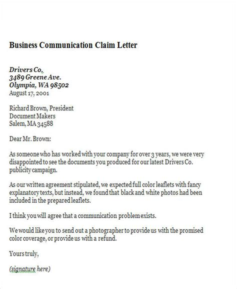 Business Letter Business Communication 44 Business Letter Exles