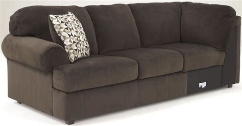 coleman couch jessa place chocolate right arm facing sectional from