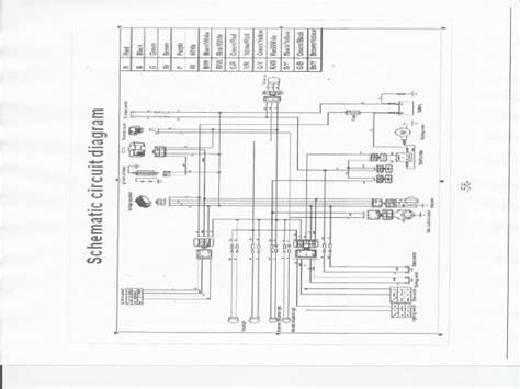 tao tao 125 atv wiring diagram wiring diagram and
