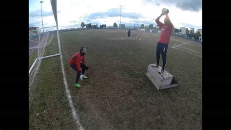 esercizi portiere allenamento portieri forza e uno contro uno