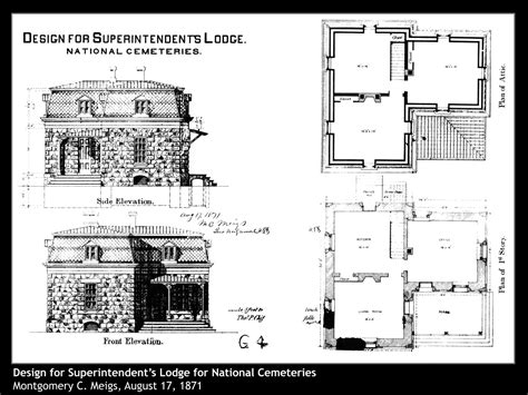 historical home plans va historic property highlights superintendent s lodge
