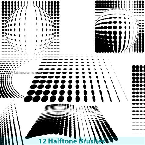 layout photoshop brushes free photoshop brushes halftone pattern photoshop free