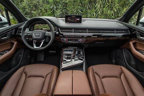audi suv q7 interior new audi q7 2017 first look and interior changes review