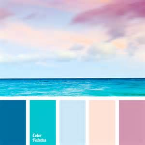 colour combination with blue peach and deep blue color palette ideas