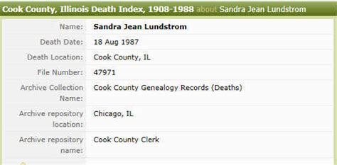Cook County Records Thornton