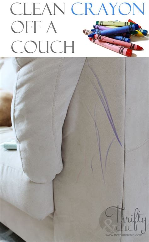how to get crayon out of microfiber couch 17 best images about cleaning solutions on pinterest