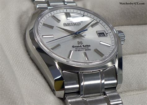 automatic springs grand on with the seiko 62gs drive and hi beat
