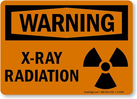 warning sign x ray warning signs free shipping mysafetysign com