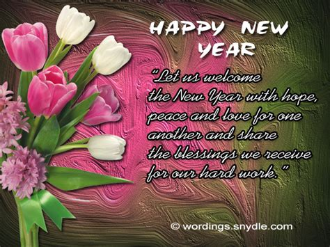 short happy new year messages wishes and greetings