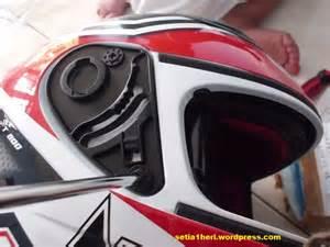 Helm Nhk Road Fighter solved helm nhk ane sudah normal lagi gan ganti kuping