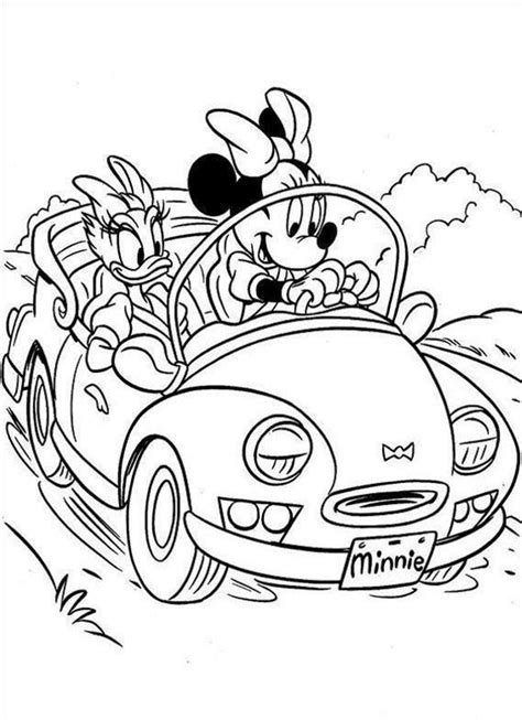 coloring pages of minnie mouse and daisy duck minnie mouse coloring pages 360coloringpages