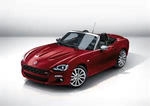 fiat new sports car fiat 124 spider details on new italian sports car evo