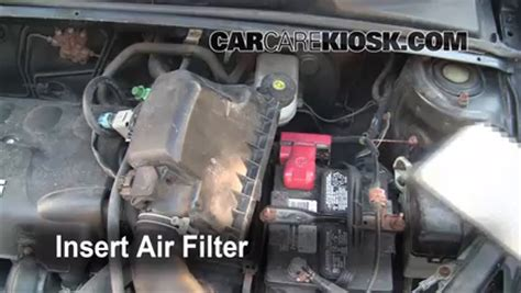 Toyota Echo 2005 Parts Air Filter How To 2000 2005 Toyota Echo 2001 Toyota