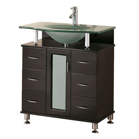 home depot design element vanity design element huntington 30 in w x 22 in d vanity in