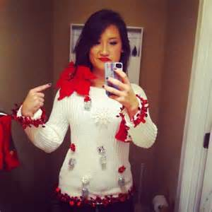 ugly sweater ideas homemade