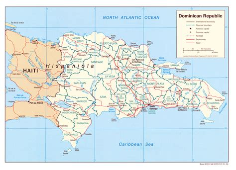 dominican republic dominican republic maps perry casta 241 eda map collection