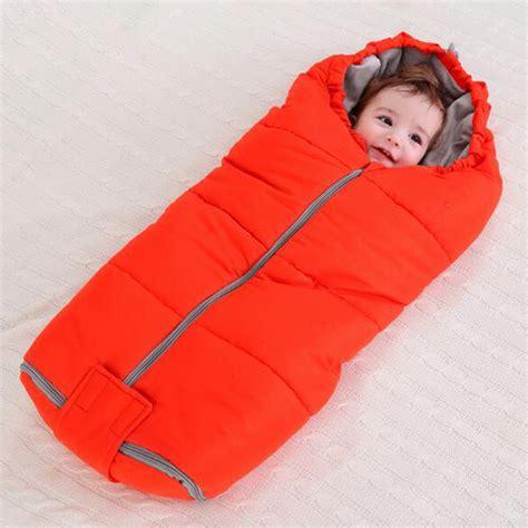 Sleeping Bag Newborn 11 winter baby sleeping bag for stroller infant sleeping sack toddler newborn sleepsacks soild warm