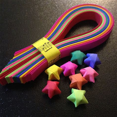 Origami Paper Strips For - origami paper strips lovelyelement
