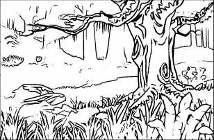 forest coloring pages coloring pages of forest coloring home