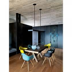 Industrial Dining Room Furniture - teal charles eames style daw chair side amp cafe chairs