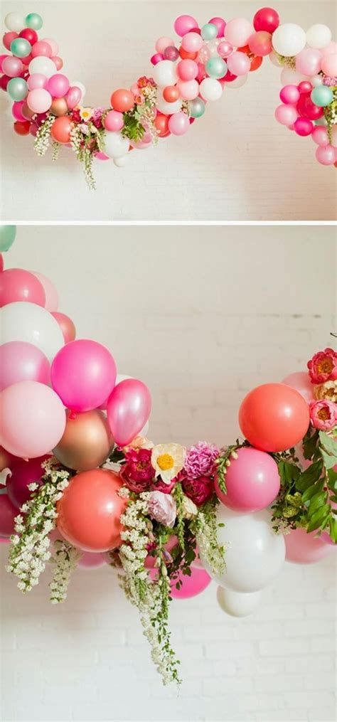 flower pattern balloon arch take balloon arches from 80s prom to boho chic with
