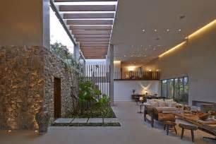 El Patio Mission Open Air Living Room Interior Design Ideas