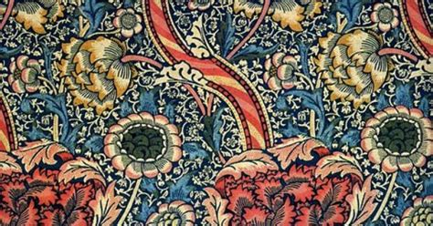 wandle touch wandle wallpaper by william morris illustration