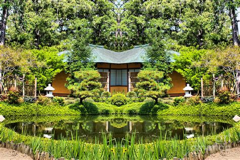 japanese botanical garden houston japanese garden at hermann park houston photograph