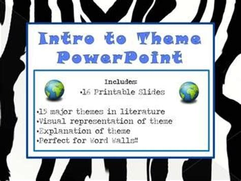 major themes of literature 17 best images about classroom ela on pinterest
