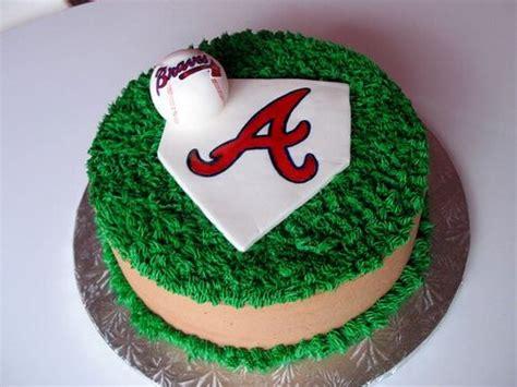 themed birthday cakes atlanta atlanta braves cake recipes pinterest brave cakes