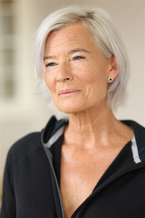 photo of striking older woman with grey and pink hair 29 best mature models images on pinterest going gray