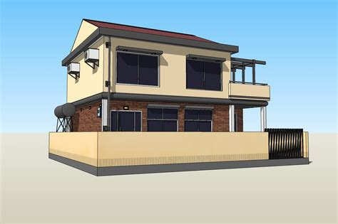 new sketchup house model now available for your oelvn