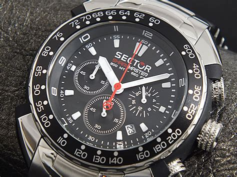 sector dive master sector shark master chronograph review