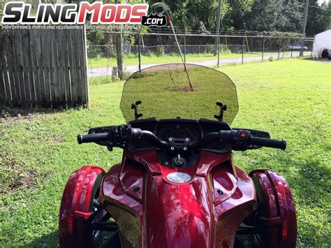 Windshield Nitex Adjustable Limited can am spyder f3 t f3 limited tinted clear adjustable