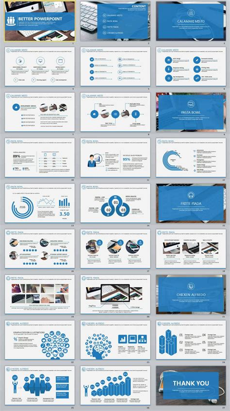 27 better blue professional powerpoint templates the