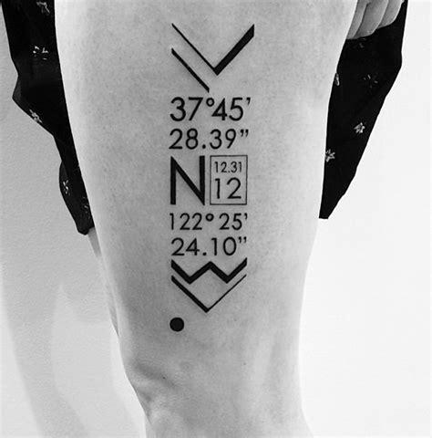 coordinates tattoo designs best 25 coordinates ideas on compass