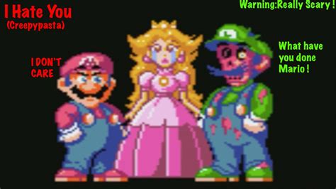 commercials youre hating right now the sequel we killed luigi s i hate you creepypasta game youtube