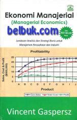 ekonomi manajerial managerial economics landasan