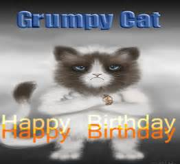 grumpy cat happy birthday free pets ecards greeting cards 123 greetings
