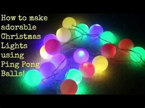 light up ping pong balls how to adorable lights ping pong