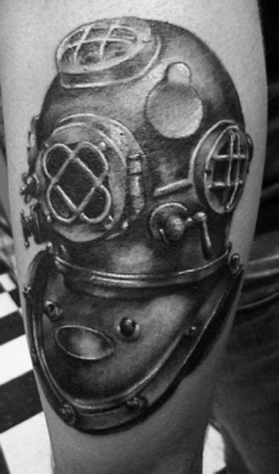 diving helmet tattoo designs divers helmet mk v helmet