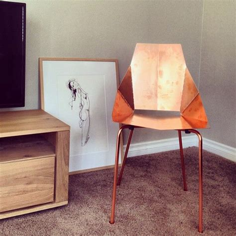 Copper Real Chair by