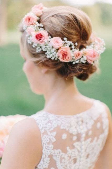 68 flower crown ideas to complete your wedding hairstyle 25 beautiful spring flower crown ideas for brides decor