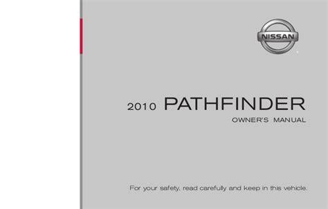 old car owners manuals 2010 nissan 370z user handbook 2010 pathfinder owner s manual