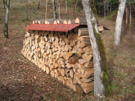 diy firewood rack cover cover your firewood with metal roofing
