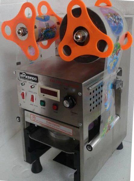Jual Sealer Plastik Otomatis by Jual Mesin Cup Sealer Otomatis Stainless Cps 12a Di