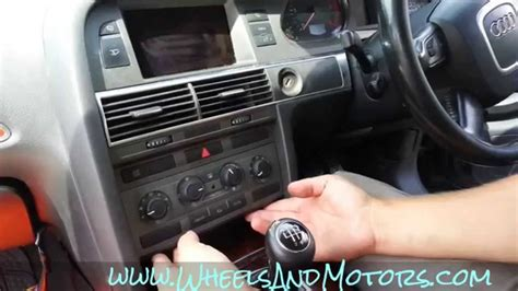 remove climatronic ac  climate control buttons