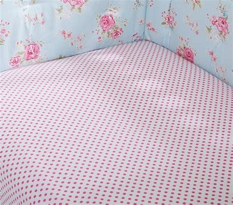 Pottery Barn Kids Mini Dot Crib Fitted Sheet 19 1419 Bed Mini Crib Fitted Sheet