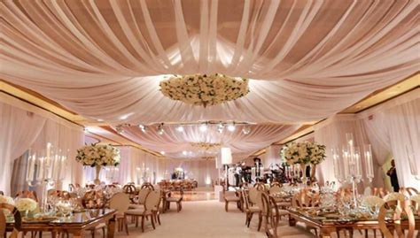 diy wedding reception ceiling decorations how to make ceiling draping for weddings stunning impression